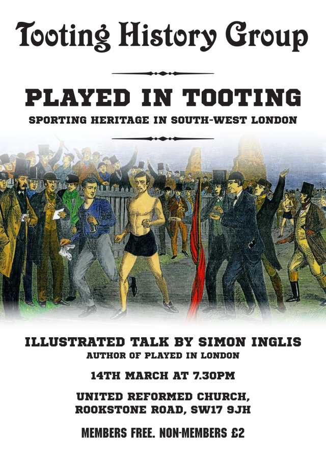 Played in Tooting-3-1