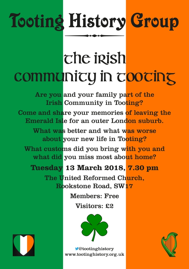 The Irish Community In Tooting