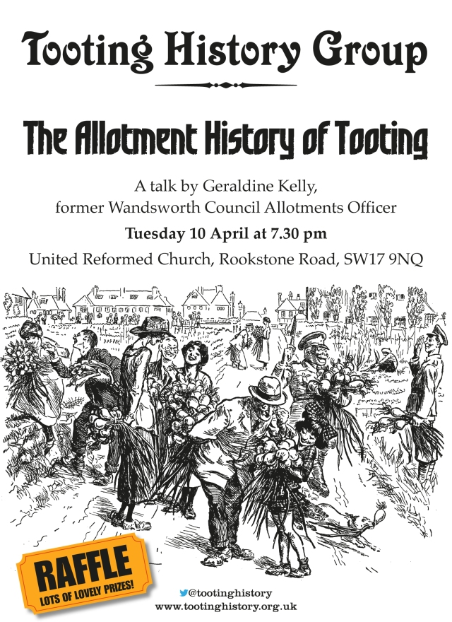 History of Allotments In Tooting