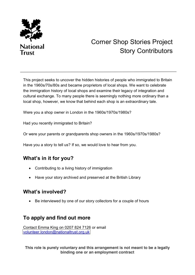 National Trust Contact Details