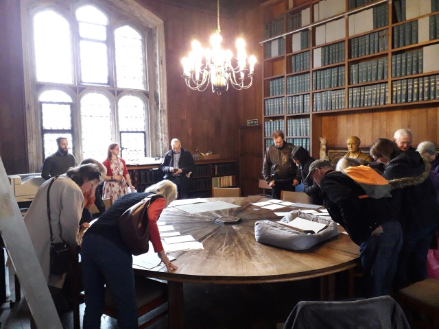Members of THG At Lambeth Palace on 22nd March 2019