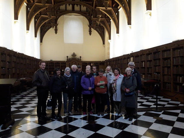 THG Members At Lambeth Palace Library March 22 2019