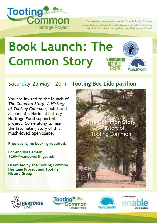 Poster Advertising TCHP Book Launch