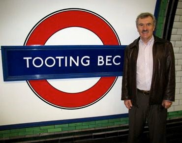 Picture of Dr Peter Mouginis Mark At Tooting Bec Station