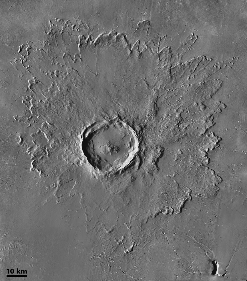 Picture of Tooting Crater on March